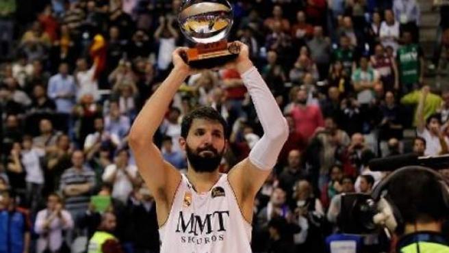 Nikola Mirotic, MVP de la Copa del Rey.