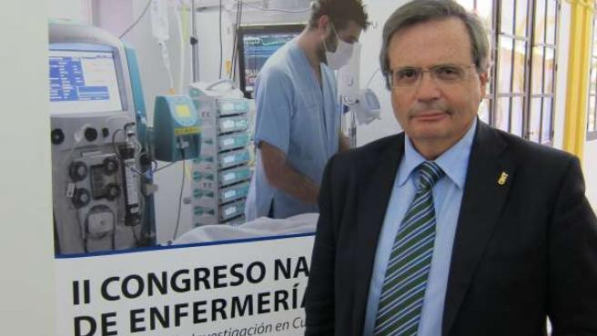 El director de la ONT, Rafael Matesanz