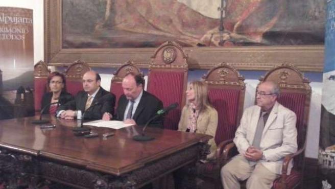 Acto sobre la evaluación de la candidatura de la Alpujarra a Patrimonio Mundial