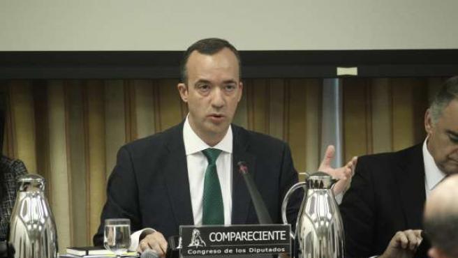 El secretario de estado de Seguridad, Francisco Martínez