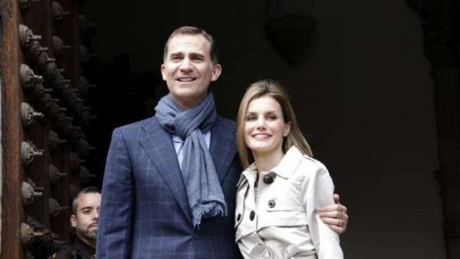 Los Príncipes de Asturias en Toledo