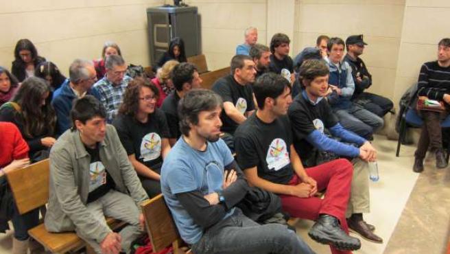 Once de los 12 procesados por altercados en la marcha de Galicia Bilingüe