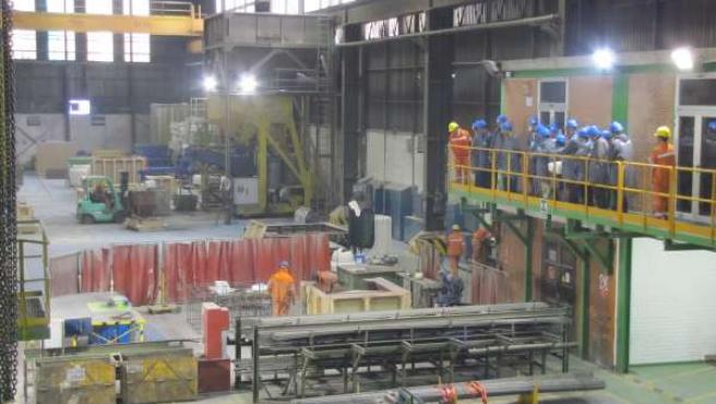Visita de expertos internacionales a la fábrica de Gerdau en Reinosa