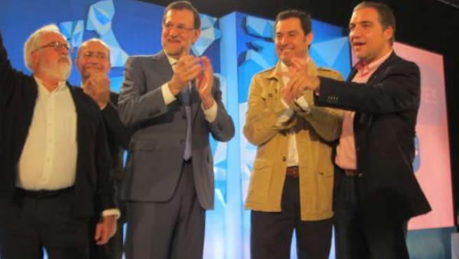 Rajoy y Cañete en Málaga
