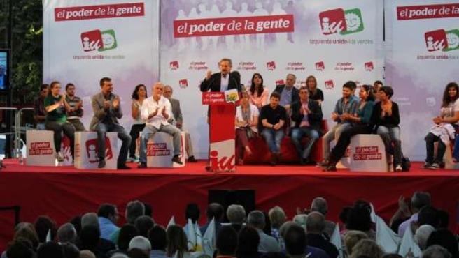 Meyer y Maíllo, en un acto en Sevilla