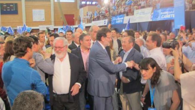 Cañete y Rajoy en Málaga