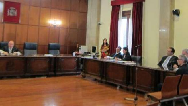 Sala de vistas de la Audiencia Provincial de Jaén