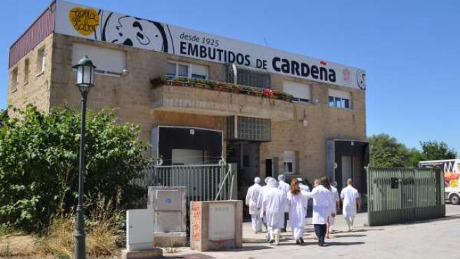 Sede de embutidos de Cardeña, en la provincia de Burgos
