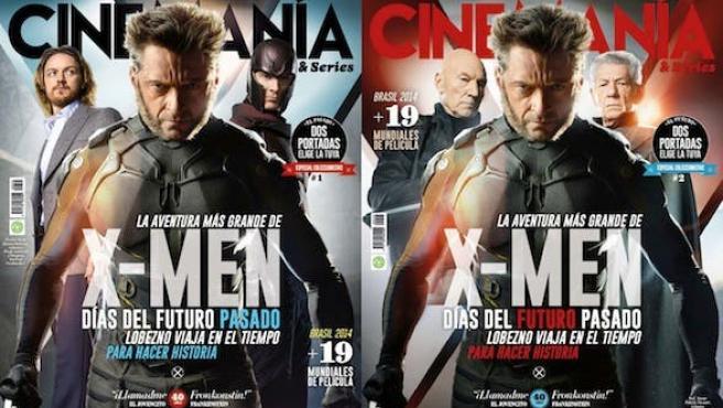 CINEMANÍA: elige tu portada de 'X-Men: Días del futuro pasado'