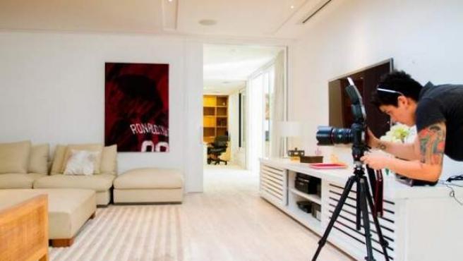 Casa en alquiler de 1.000 metros cuadrados de Ronaldinho en Río de Janeiro.