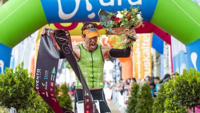 Ganador del Bilbao Triathlon de 2013