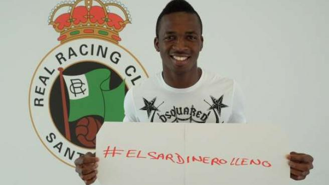 Koné, jugador del Racing