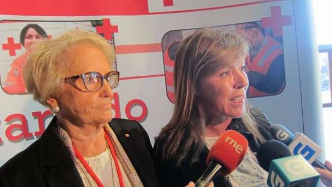 Carmen Colmeiro, a la izquierda, y Beatriz Mato, a la derecha