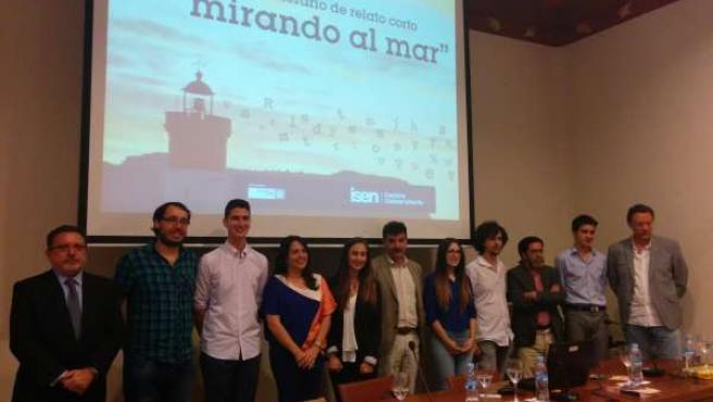 Miembros del jurado y ganadores