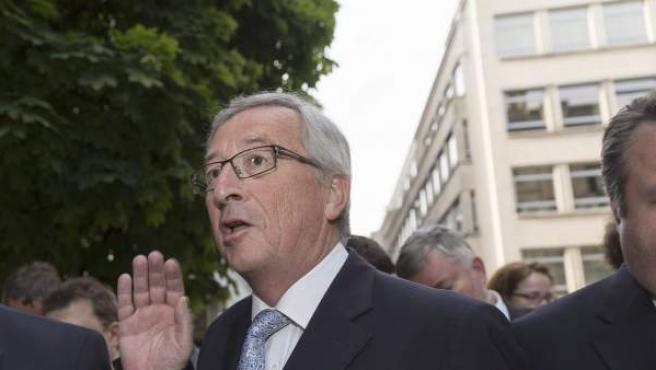 Jean Claude Juncker, candidato de los conservadores europeos.