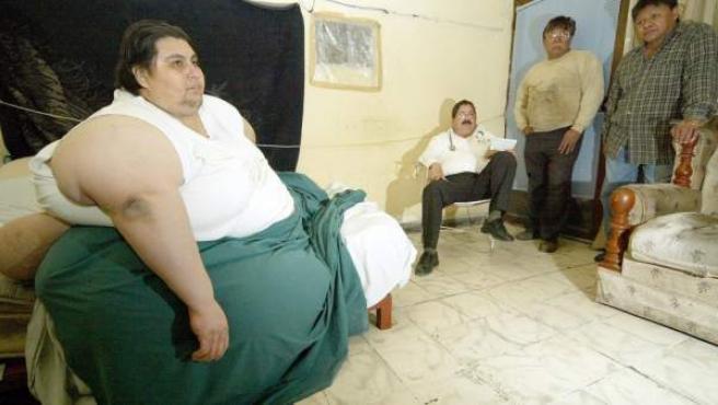 Manuel Uribe Garza llegó a pesar casi 600 kilos.