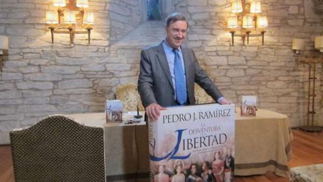 Pedro J. Ramírez en Santiago de Compostela