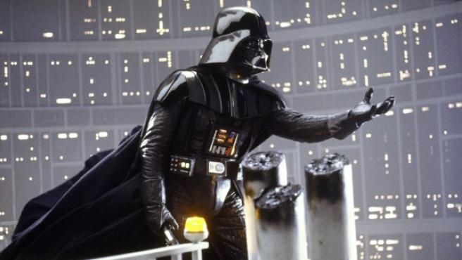 Darth Vader en 'El imperio contraataca'.