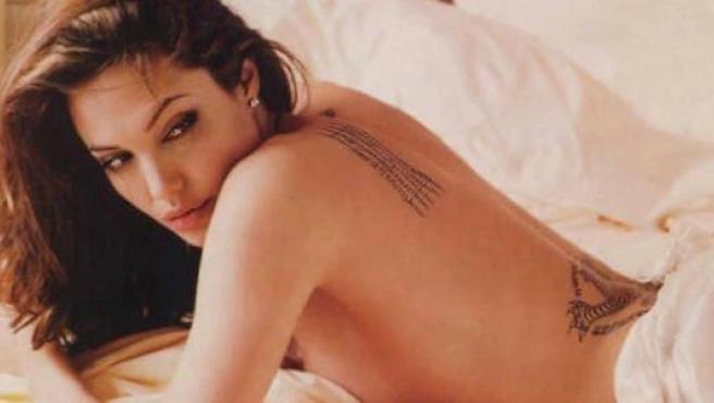 Desnudos que nos marcaron: Angelina Jolie