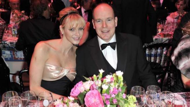 Charlene y Alberto de Mónaco, en el Baile de la Rosa.
