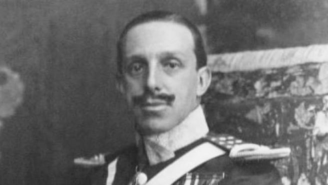 Alfonso XIII de Borbón.