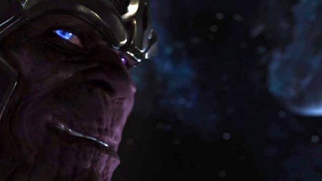 [SPOILER] ¿Cuánto sale Thanos en 'Guardianes de la galaxia'?