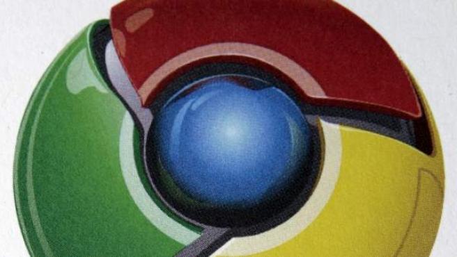 Símbolo del navegador de Google Chrome.