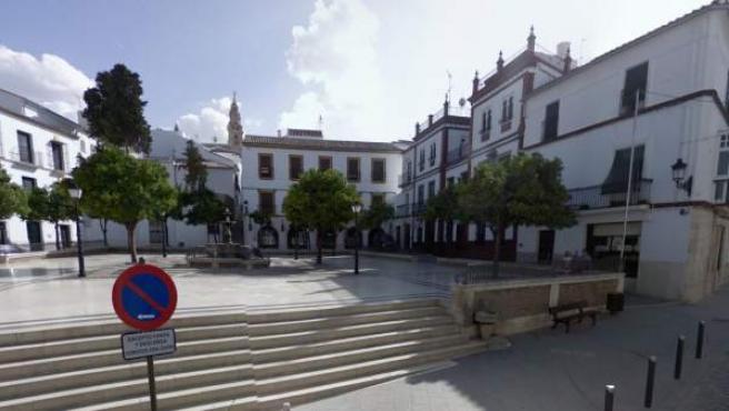 Plaza del Ayuntamiento de Estepa (Sevilla).