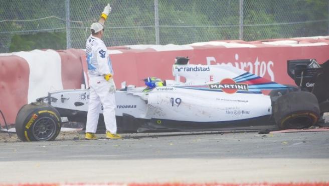 Massa, accidentado en Canadá.
