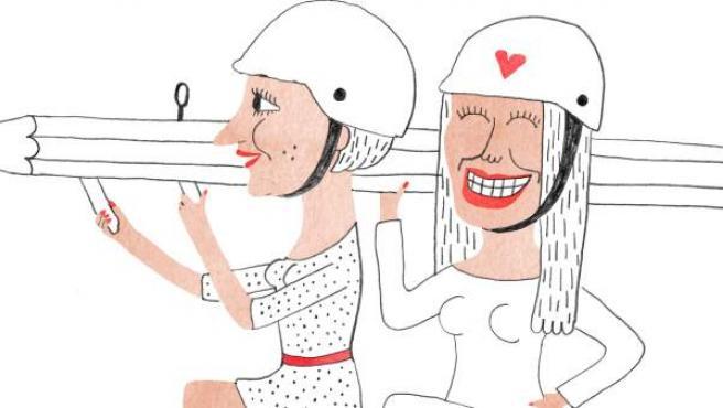 Ilustración 'Mujeres despechadas'