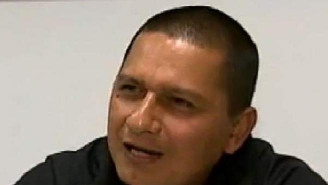 El coronel González del Río en la entrevista con RCN