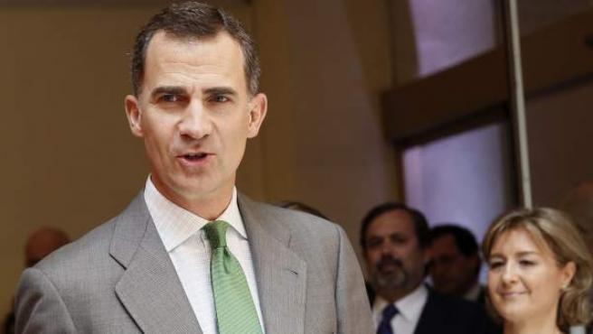 El príncipe de Asturias, futuro rey Felipe VI.