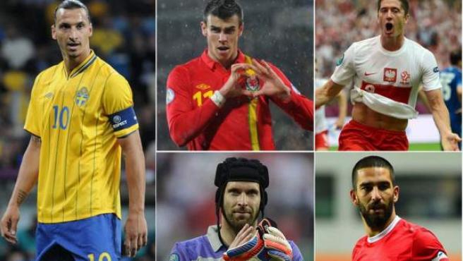 Ibrahimovic, Bale, Lewandowski, Cech y Turan no estarán en el Mundial de Brasil.