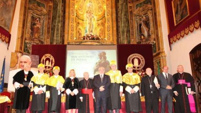 Nuevos Doctores Honoris Causa por la UCAM, René Verdonk y Juan Carlos Izpisua