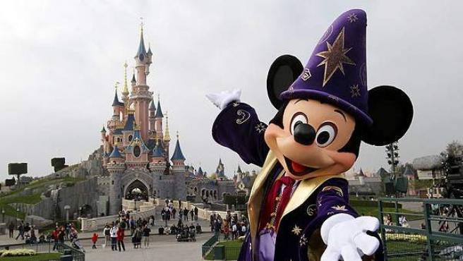 El complejo turístico de Disneyland en París.