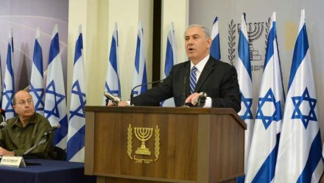 Imagen del primer ministro israelí, Benjamin Netanyahu.