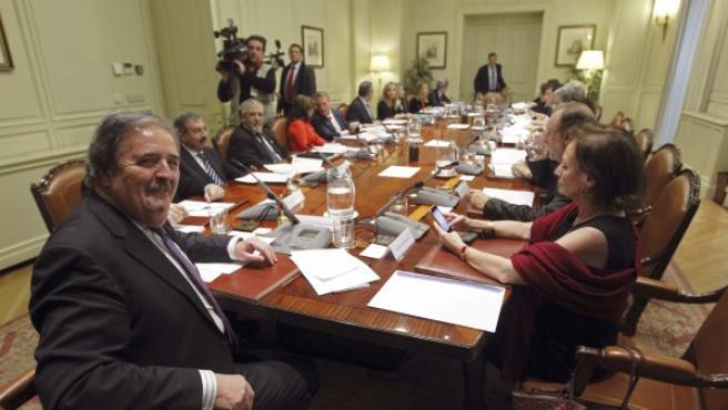 Reunión del Consejo General del Poder Judicial (CGPJ).