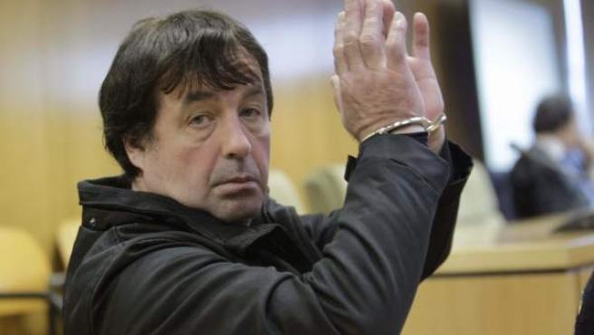 """Jaime Giménez Arbe, conocido como """"El Solitario"""", durante el juicio en la Audiencia Provincial de Madrid."""