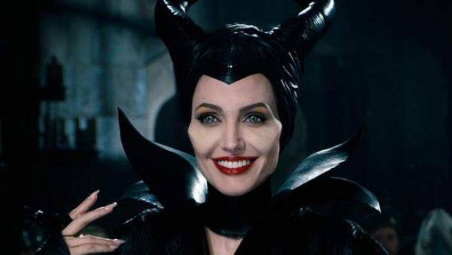 Angelina Jolie es la malvada Maléfica.