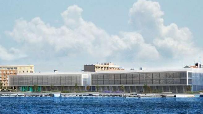 Obras del complejo emprendedor en La Marina