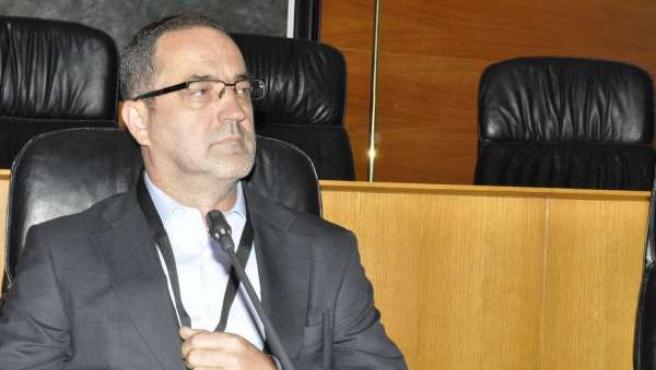 Agapito Iglesias, en la Comisión de Investigación