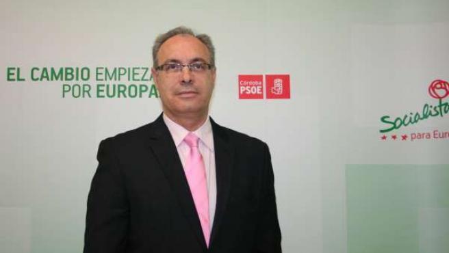 El secretario general del PSOE en Córdoba y senador, Juan Pablo Durán