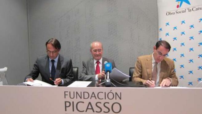 Lluch, De la Torre y González de Lara, firman un convenio de colaboración