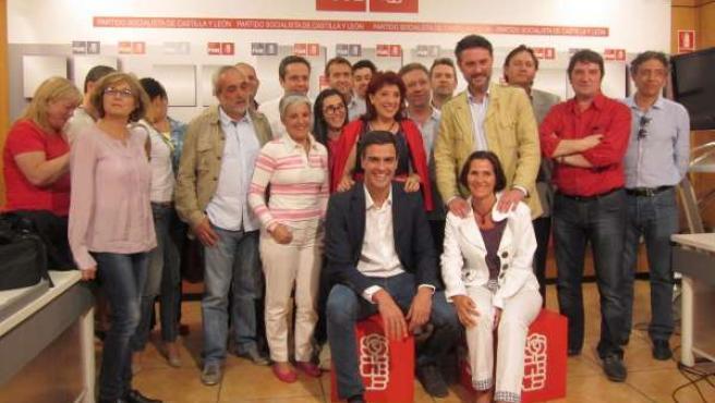 Plataforma de apoyo a Pedro Sánchez en Castilla y León