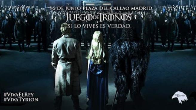La coronación de 'Juego de tronos' será en Madrid