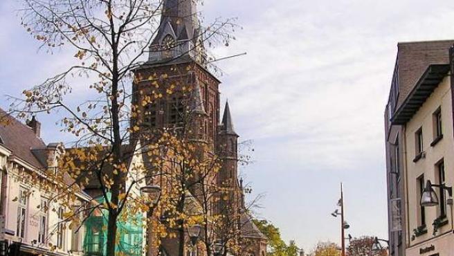 Imagen del centro de Tilburgo (Holanda).