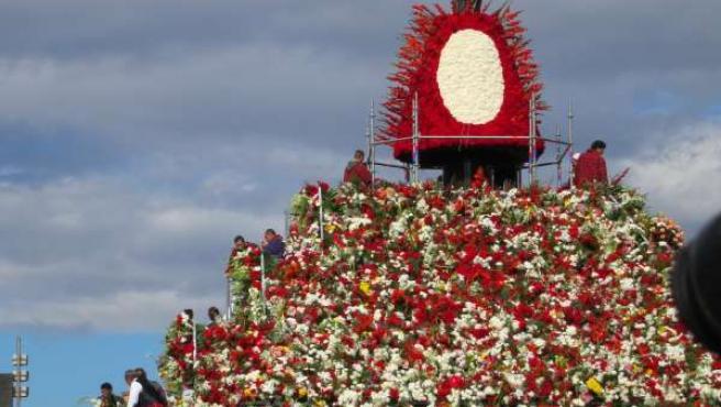 Ofrenda de Flores a la Virgen del Pilar 2012