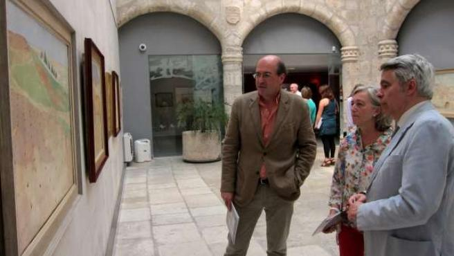 Presentación de la muestra de Del Val en el edificio Tejerina de la UVA