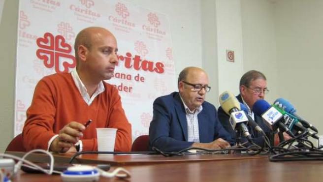 Representantes de Cáritas Diocesana de Santander