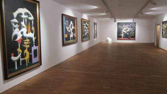 Exposición de Iván Tovar en la Fundación Granell de Santiago